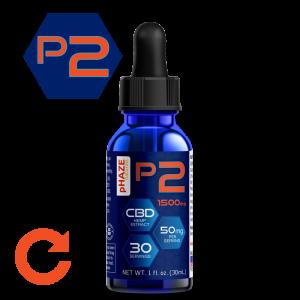 pHAZE Naturals 1500mg Full Spectrum Hemp CBD Oil Tincture (30mL)