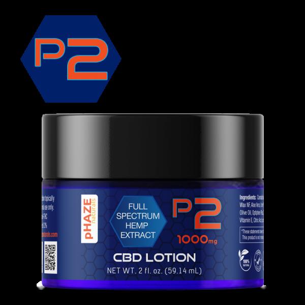 1000 mg Full Extract Hemp CBD Lotion