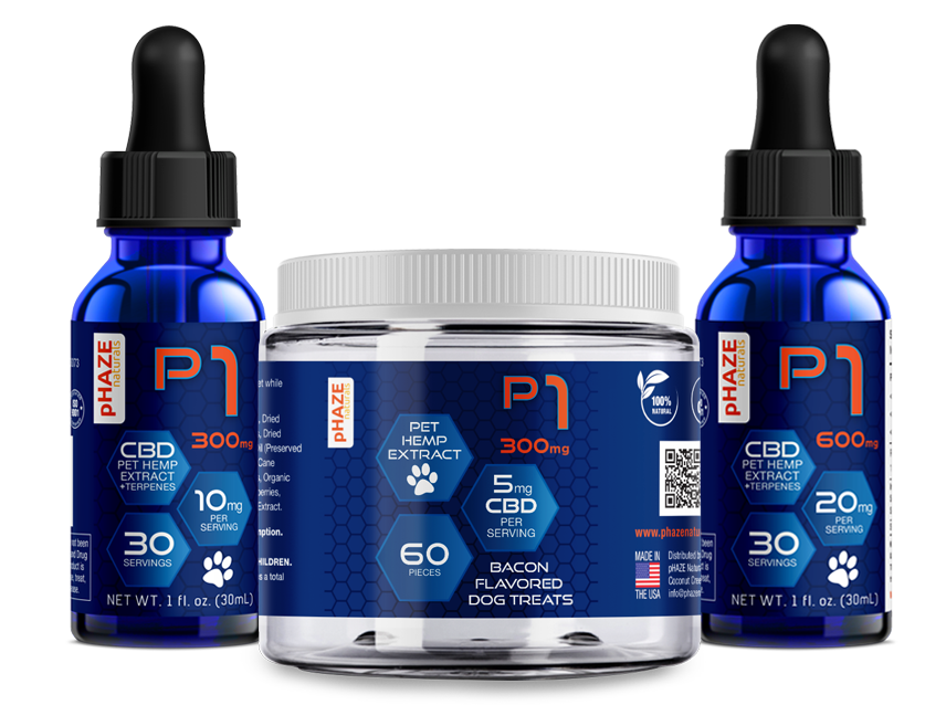 All natural, organic CBD Products for pets - pHAZE Naturals